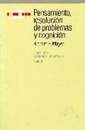 Papel PENSAMIENTO RESOLUCION DE PROBLEMAS Y COGNICION (COGNICION Y DESARROLO HUMANO 16012)