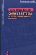 Papel COMO SE ESTUDIA (INTRUMENTOS 33008)