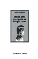 Papel CLAVES PARA LA SOLUCION EN TERAPIA BREVE
