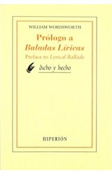 Papel PROLOGO A BALADAS LIRICAS