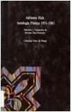 Libro Antologia Poetica  1951 - 1981