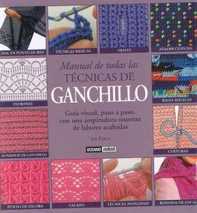 Papel Manual De Todas Las Tecnicas De Ganchillo