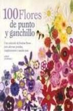 Papel 100 Flores De Punto Y Ganchillo