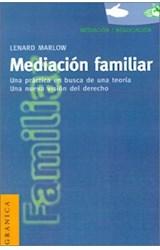 Papel MEDIACION FAMILIAR (UNA PRACTICA EN BUSCA DE UNA TEORIA)