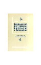 Papel CALIDAD EN LA UNVERSIDAD: ORIENTACION Y EVALUACION