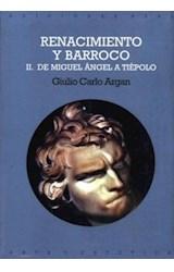 Papel RENACIMIENTO Y BARROCO 2. DE MIGUEL ANGEL A TIEPOLO