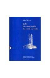 Papel 1923 La Construcción Funcional Moderna