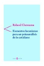 Papel ELEMENTOS LACANIANOS PARA UN PSICOANALISIS DE LO COTIDIANO