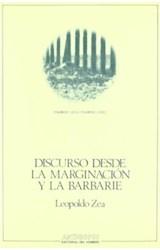 Papel DISCURSO DESDE LA MARGINACION Y LA BARBARIE