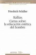 Papel Kallias. Cartas Sobre La Educacion Estetica Del Hombre