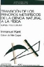 Papel Transición De Los Principios Metafísicos De La Ciencia Natural A La Física (Opus Postumum)