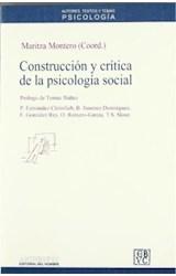 Papel CONSTRUCCION Y CRITICA DE LA PSICOLOGIA SOCIAL