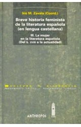 Papel BREVE HISTORIA FEMINISTA 1 DE LA LIT ESPAÑOLA