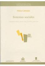 Papel SISTEMAS SOCIALES (LINEAMIENTOS PARA UNA TEORIA GENERAL)