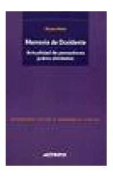 Papel MEMORIA DE OCCIDENTE (ACUALIDAD DE PENSADORES JUDIOS OLVIDAD