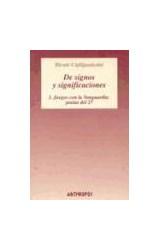 Papel DE SIGNOS Y SIGNIFICACIONES 1. JUEGOS CON LA
