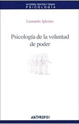 Papel PSICOLOGIA DE LA VOLUNTAD DE PODER