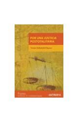 Papel Por una justicia postotalitaria