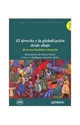 Papel EL DERECHO Y LA GLOBALIZACION DESDE ABAJO