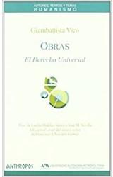 Papel OBRAS III EL DERECHO UNIVERSAL