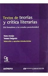 Papel TEXTOS DE TEORIAS Y CRITICA LITERARIAS