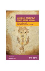 Papel MEMORIA COLECTIVA COMO DEBER SOCIAL