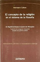 Papel El Concepto De La Religión En El Sistema De La Filosofía