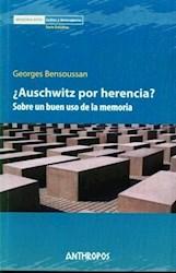 Papel ¿Auschwitz Por Herencia?