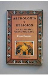 Papel ASTROLOGIA Y RELIGION EN EL MUNDO GRECORROMANO