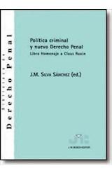 E-book Política Criminal y nuevo Derecho Penal