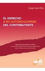 E-book El derecho a no autoinculparse del contribuyente