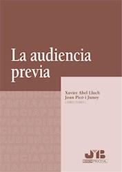 Libro La Audiencia Previa