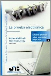 Libro La  Prueba Electronica