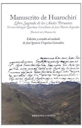 Papel Manuscrito De Huarochirí