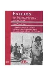 Papel EXILIOS . LOS EXODOS POLITICOS EN LA HISTORI