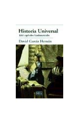 Papel HISTORIA UNIVERSAL . XXI CAPITULOS FUNDAMENT