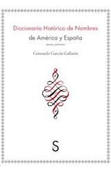 Papel DICCIONARIO HISTORICO DE NOMBRES DE AMERICA