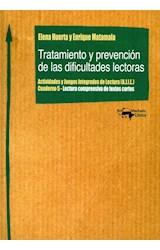 Papel TRATAMIENTO Y PREVENCION DE LAS DIFICULTADES LECTORAS