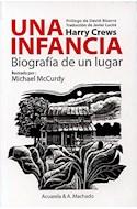 Papel UNA INFANCIA BIOGRAFIA DE UN LUGAR (ILUSTRADO POR MICHAEL MCCURDY)