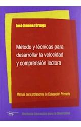 Papel METODO Y TECNICAS PARA DESARROLLAR LA VELOCIDAD Y COMPRENSIO