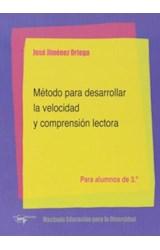 Papel METODO PARA DESARROLLAR LA VELOCIDAD Y COMPRENSION LECTORA