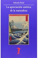 Papel APRECIACION ESTETICA DE LA NATURALEZA (COLECCION LA BALSA DE LA MEDUSA)