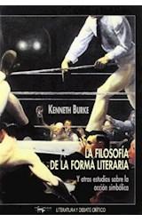 Papel FILOSOFIA DE LA FORMA LITERARIA. Y OTROS ESTUDIOS SOBRE L, L