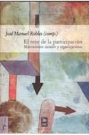 Papel RETO DE LA PARTICIPACION MOVIMIENTOS SOCIALES Y ORGANIZACIONES (COLECCION MINIMO TRANSITO)