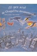 Papel PEZ AZUL DE CHAGALL HA DESAPARECIDO (CARTONE)