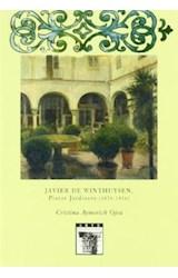 Papel Javier de Winthuysen, Pintor jardinero (1874-1956)