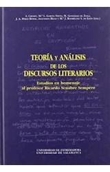 Papel Teoría y análisis de los discursos literarios