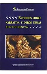 Papel Estudios sobre narrativa y otros temas dieciochescos