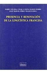 Papel Presencia y renovación de la lingüística francesa