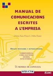 Libro Manual De Comunicacions Escrites A L''Empresa